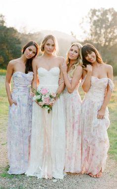 Wedding Trend - Floral Printed Wedding Dresses 9