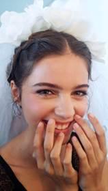 Get the Look Bridal Nails from ZOYA At Marchesa Bridal FW 2016 3