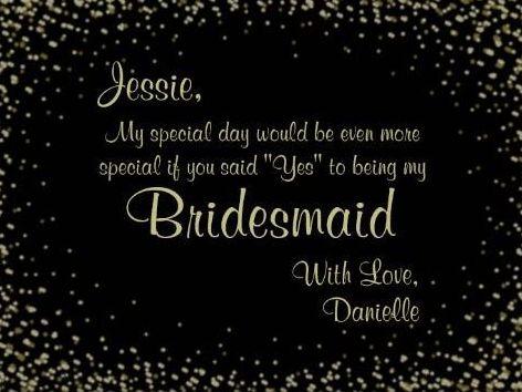 Jessie Bridesmaid