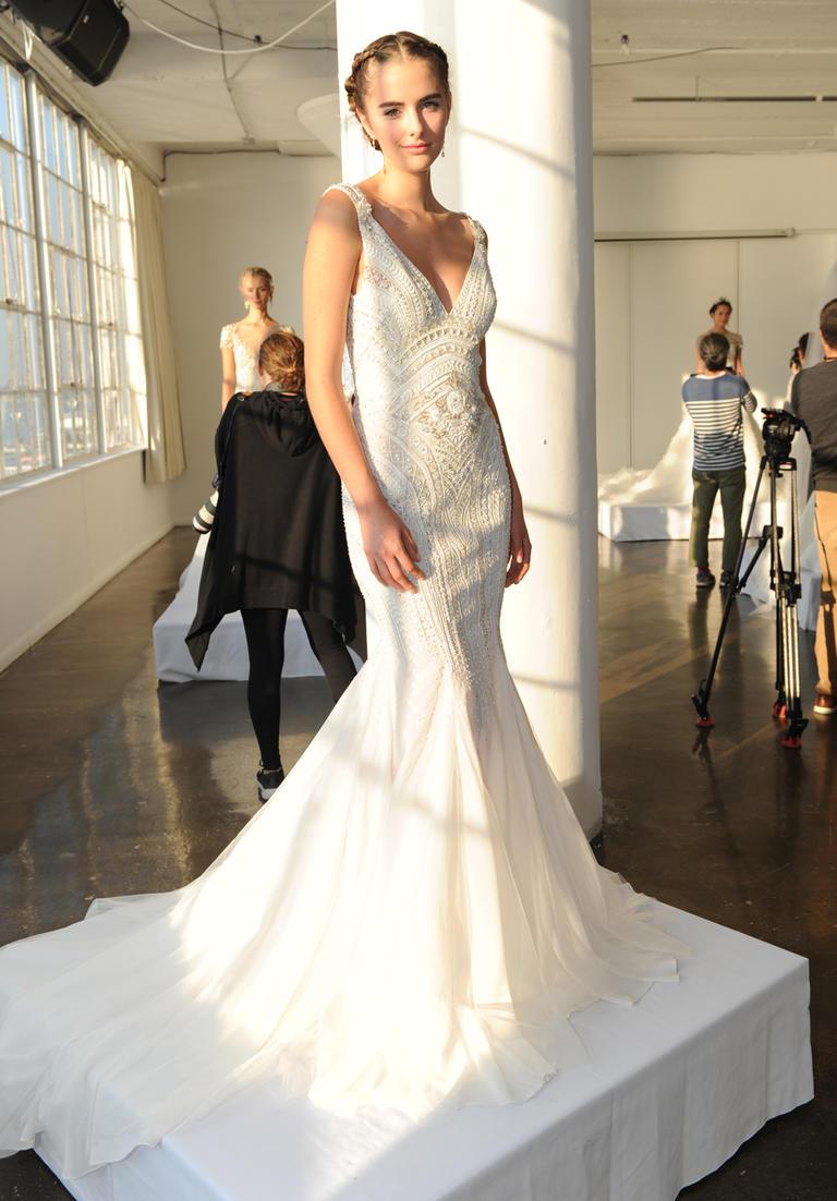 Marchesa Fall 2016 wedding dress collection 7
