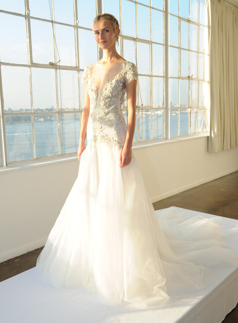 Marchesa Fall 2016 wedding dress collection 8