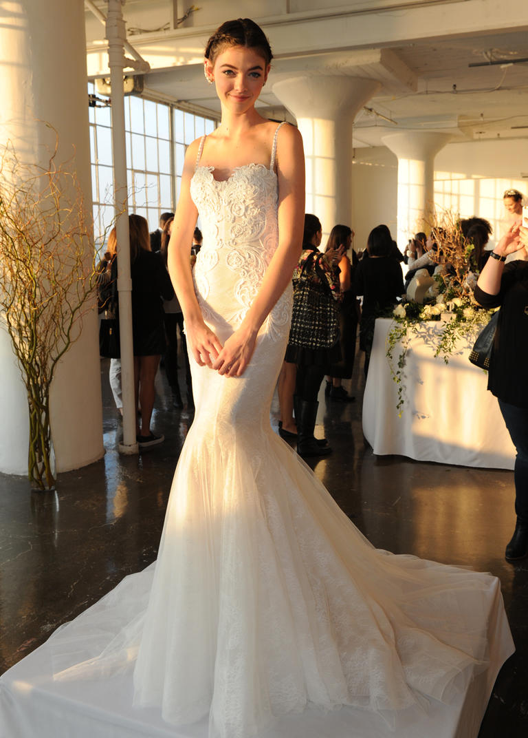 Marchesa Fall 2016 Wedding Dress Collection Dipped In Lace