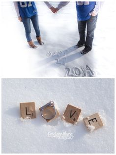 25 Winter Save The Date Ideas 13