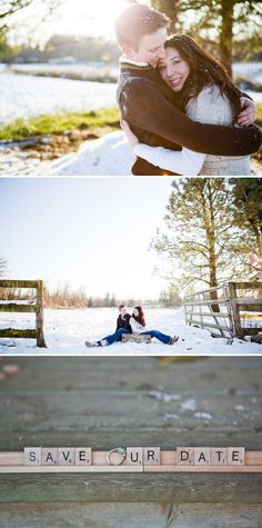 25 Winter Save The Date Ideas 14
