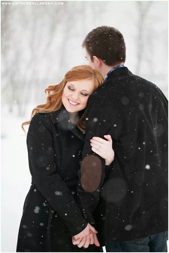 25 Winter Save The Date Ideas 20