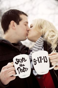 25 Winter Save The Date Ideas 3