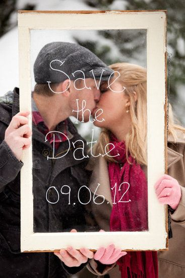 25 Winter Save The Date Ideas 4