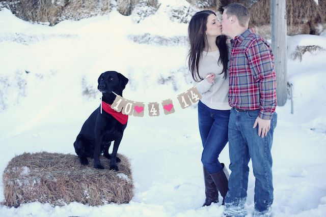 25 Winter Save The Date Ideas 9