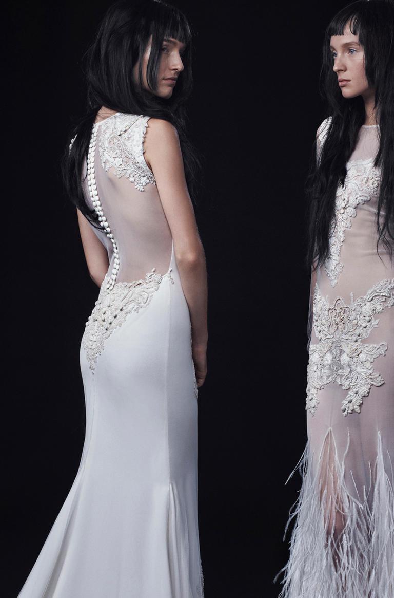 Vera Wang Fall 2016 Wedding Dress Collection 16