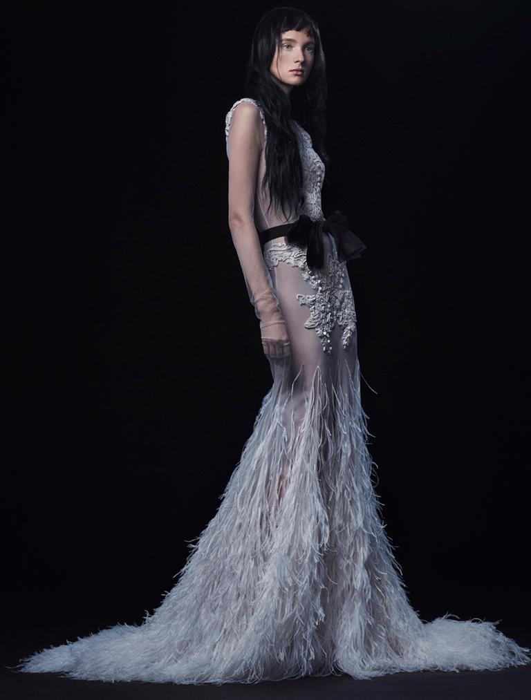 Vera Wang Fall 2016 Wedding Dress Collection 2