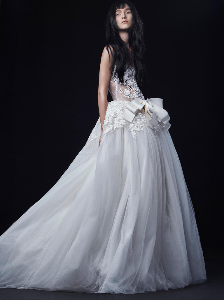 Vera Wang Lace Wedding Dresses Vera Wang Fall 2016 We...
