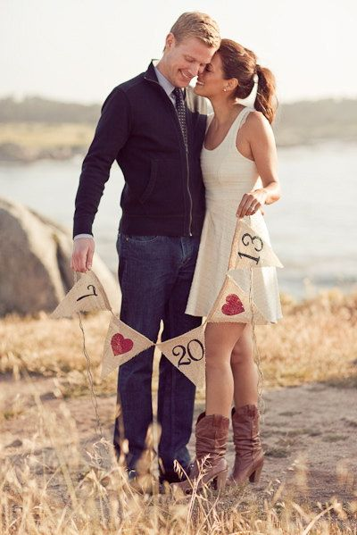 20 Spring Save The Date Ideas That Will Prove Love Is In The Air  22