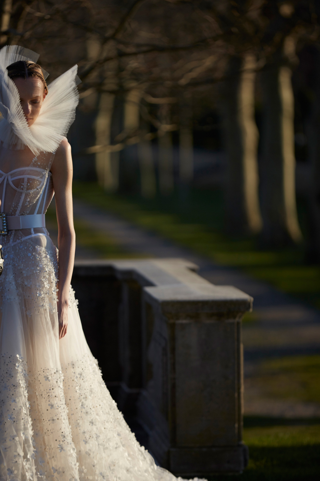 Vera Wang Spring 2017 Wedding Dress Collection Dipped In Lace