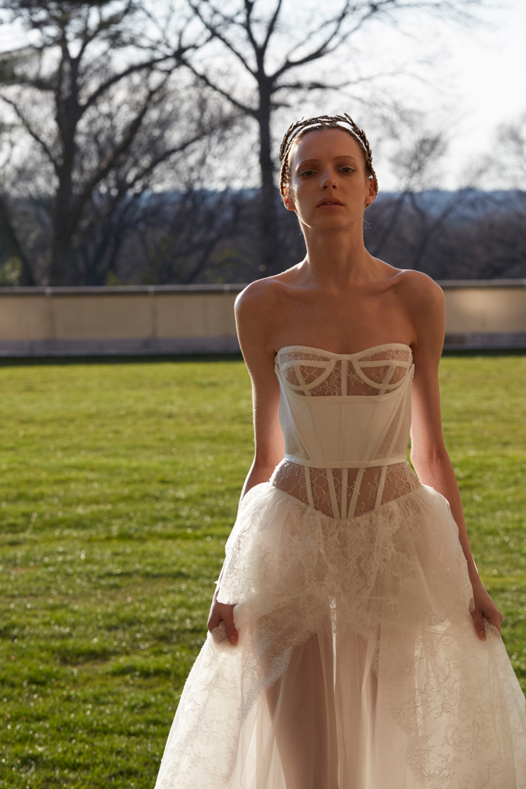 vera wang spring 2017 wedding dress collection dipped in