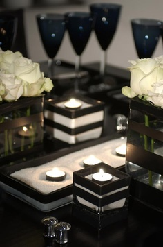 Black White Wedding Theme Ideas 19