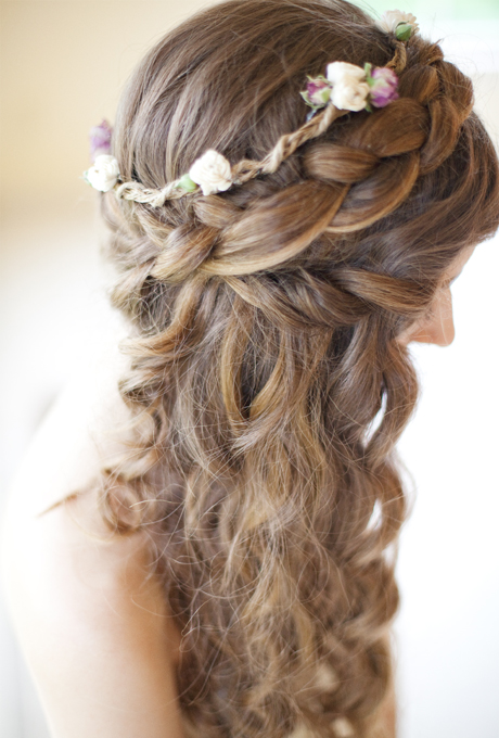 2017 Fall Winter Wedding Hairstyles