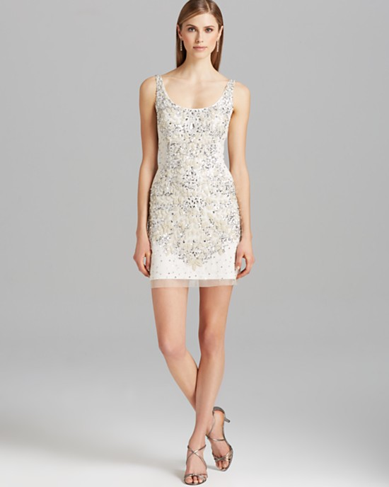 10 Short Little White Dresses To Wear Your Wedding Reception 8