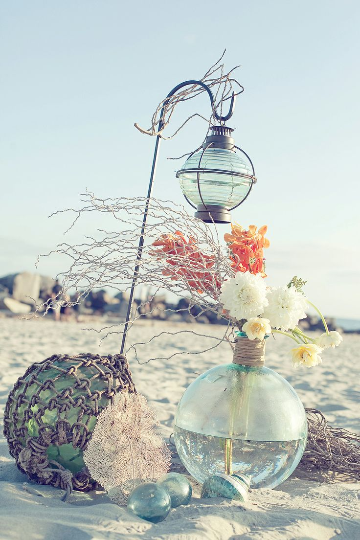 beach theme wedding decoration ideas wedding theme ideas dipped in lace 1548