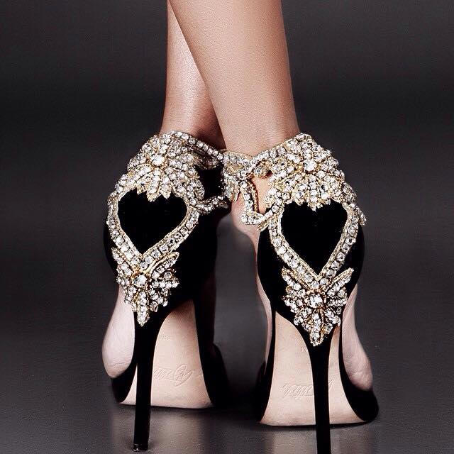 Glamorous Wedding Heels To Wow In On Your Special Day